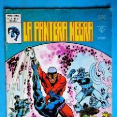 Cómics: LA PANTERA NEGRA - VOL. 1 - Nº 8 - LA VENGANZA DE LA PANTERA - VÉRTICE . Lote 195013755