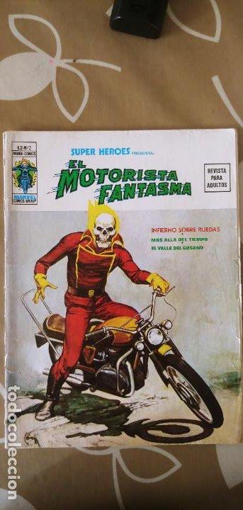 Cómics: Vertice Super Heroes vol.2 nº 2 el Motorista Fantasma muy difícil - Foto 2 - 195031208