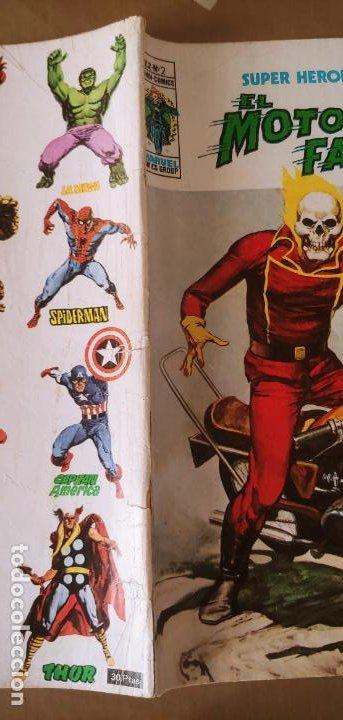Cómics: Vertice Super Heroes vol.2 nº 2 el Motorista Fantasma muy difícil - Foto 3 - 195031208