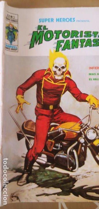 Cómics: Vertice Super Heroes vol.2 nº 2 el Motorista Fantasma muy difícil - Foto 4 - 195031208