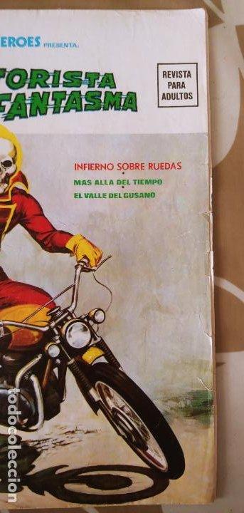 Cómics: Vertice Super Heroes vol.2 nº 2 el Motorista Fantasma muy difícil - Foto 14 - 195031208
