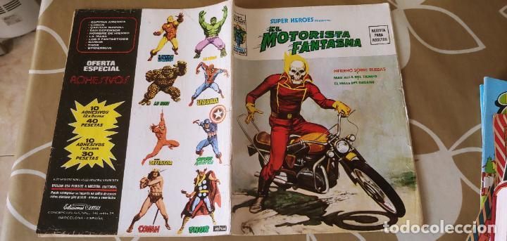 VERTICE SUPER HEROES VOL.2 Nº 2 EL MOTORISTA FANTASMA MUY DIFÍCIL (Tebeos y Comics - Vértice - Super Héroes)