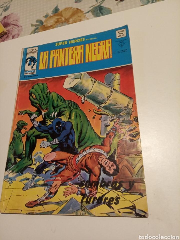 LA PANTERA NEGRA (Tebeos y Comics - Vértice - Super Héroes)