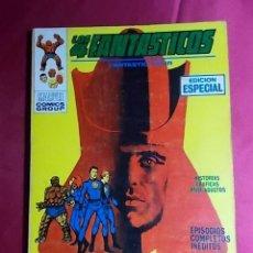 Cómics: LOS 4 FANTASTICOS. VOL 1. Nº 10. EL FARAON ASESINO . EDICIONES VÉRTICE. TACO. Lote 195054116