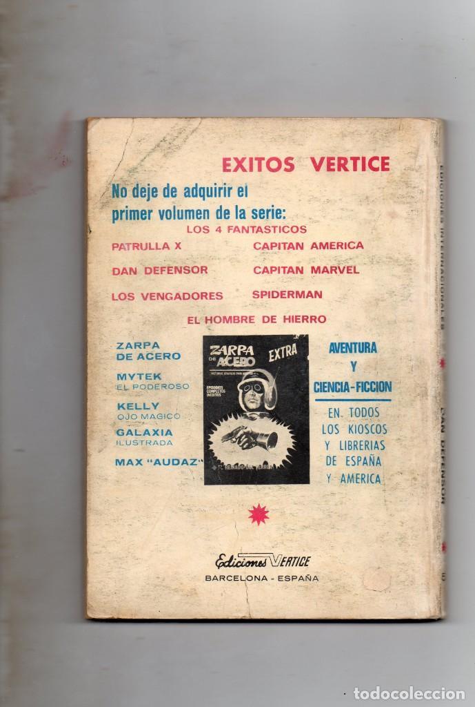 Cómics: COMIC VERTICE 1969 DAN DEFENSOR VOL1 Nº 5 ( NORMAL ESTADO ) - Foto 2 - 195111632