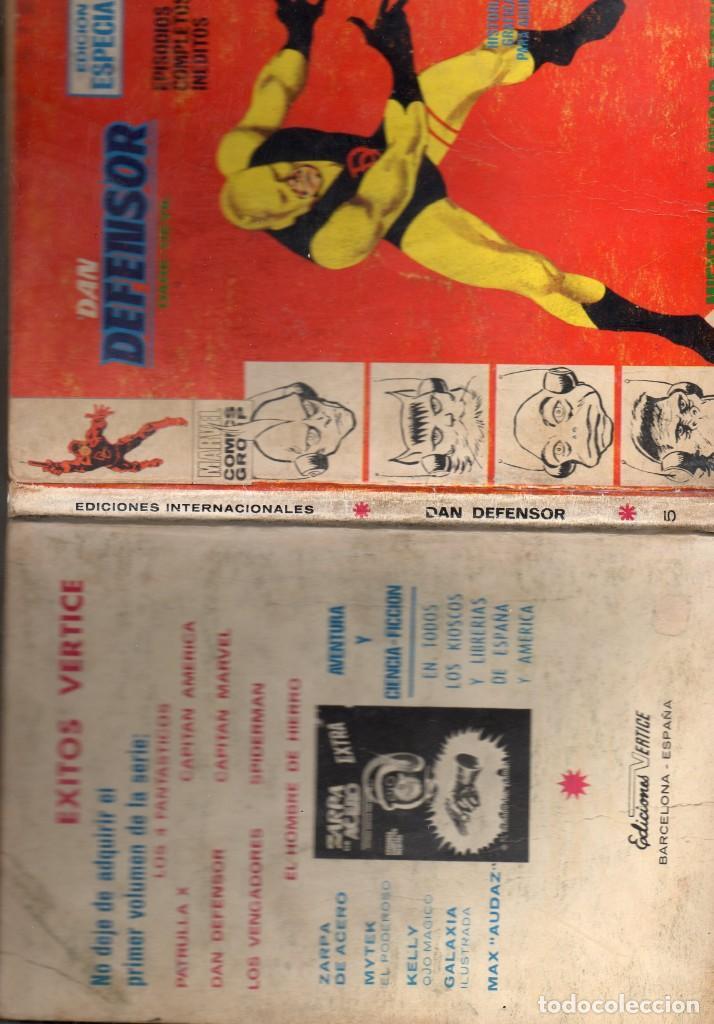 Cómics: COMIC VERTICE 1969 DAN DEFENSOR VOL1 Nº 5 ( NORMAL ESTADO ) - Foto 3 - 195111632