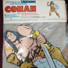 Cómics: CONAN. SUPERHÉROES EN ACCIÓN, CON POSTER MÓVIL. EDICIONES VERTICE. 1980. Lote 209986021