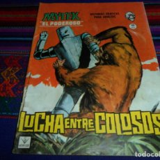 Cómics: VÉRTICE GRAPA MYTEK Nº 12. 10 PTS. 1965. LUCHA ENTRE COLOSOS. MUY BUEN ESTADO.. Lote 195156600