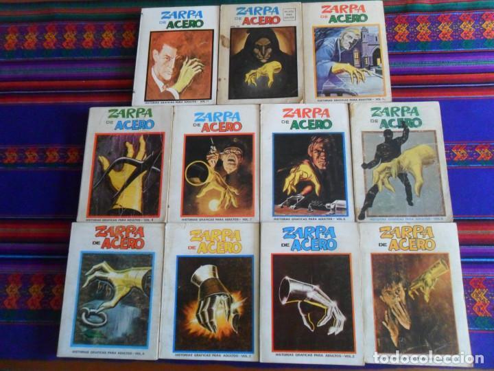 VÉRTICE VOL. 1 EDICIÓN ESPECIAL ZARPA DE ACERO NºS 1 2 3 4 5 6 7 8 9 10 11 COMPLETA. 50 PTS. 1970. (Tebeos y Comics - Vértice - V.1)