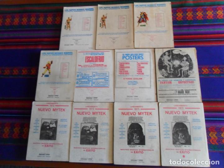 Cómics: VÉRTICE VOL. 1 EDICIÓN ESPECIAL ZARPA DE ACERO NºS 1 2 3 4 5 6 7 8 9 10 11 COMPLETA. 50 PTS. 1970. - Foto 2 - 195158256