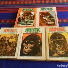 Cómics: VÉRTICE VOL. 1 EDICIÓN ESPECIAL MYTEK EL PODEROSO NºS 1 2 3 4 5 COMPLETA. 50 PTS. 1970. DIFÍCIL.. Lote 195158515