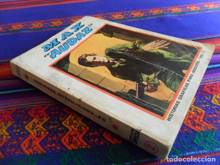 VÉRTICE VOL. 1 EDICIÓN ESPECIAL MAX AUDAZ Nº 2. 1973. 50 PTS. 288 PÁGINAS COMPLETO. (Tebeos y Comics - Vértice - V.1)