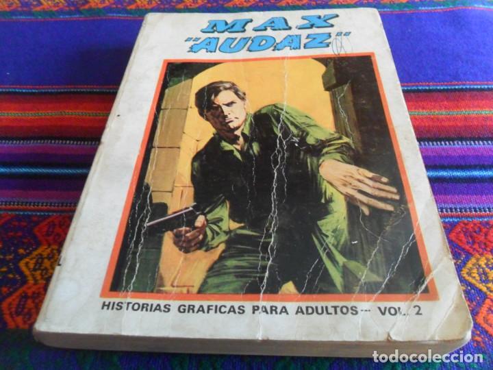 Cómics: VÉRTICE VOL. 1 EDICIÓN ESPECIAL MAX AUDAZ Nº 2. 1973. 50 PTS. 288 PÁGINAS COMPLETO. - Foto 2 - 195158713