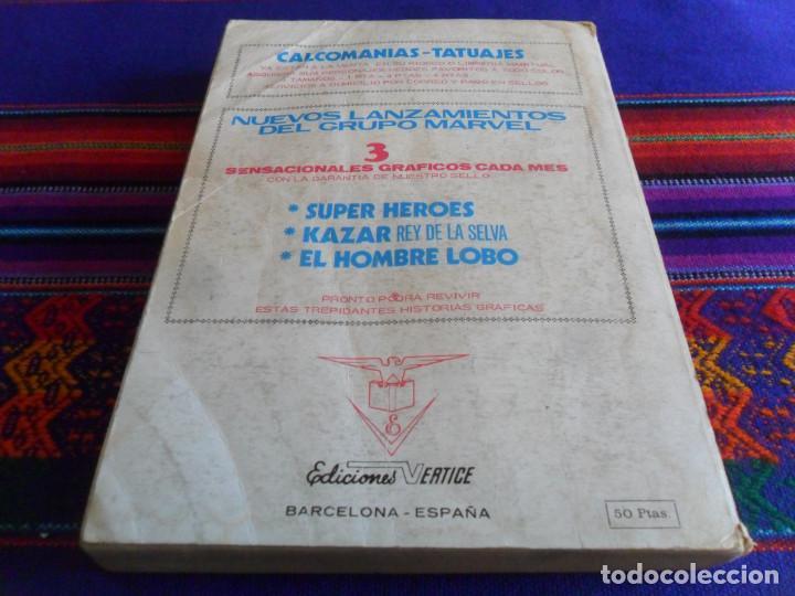 Cómics: VÉRTICE VOL. 1 EDICIÓN ESPECIAL MAX AUDAZ Nº 2. 1973. 50 PTS. 288 PÁGINAS COMPLETO. - Foto 3 - 195158713