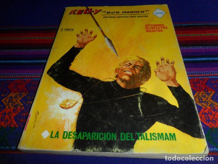 Cómics: VÉRTICE VOL. 1 KELLY OJO MÁGICO Nº 12. 1969. 25 PTS. LA DESAPARICIÓN DEL TALISMÁN. BUEN ESTADO. - Foto 2 - 195159211