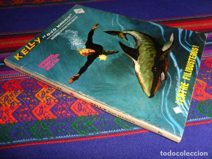 VÉRTICE VOL. 1 KELLY OJO MÁGICO Nº 17. 25 PTS. 1970. ENTRE FILIBUSTEROS. MUY BUEN ESTADO Y DIFÍCIL. (Tebeos y Comics - Vértice - V.1)
