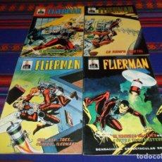 Cómics: VÉRTICE MUNDICOMICS COLOR FLIERMAN SPIDER NºS 2 3 4 5. 90 PTS. 1981. BUEN ESTADO. . Lote 195160432