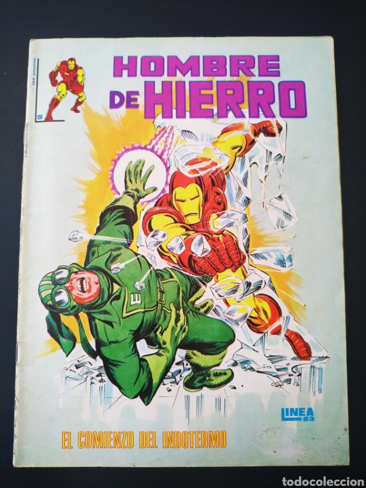 BUEN ESTADO HOMBRE DE HIERRO 5 LINEA 83 VERTICE (Tebeos y Comics - Vértice - Hombre de Hierro)