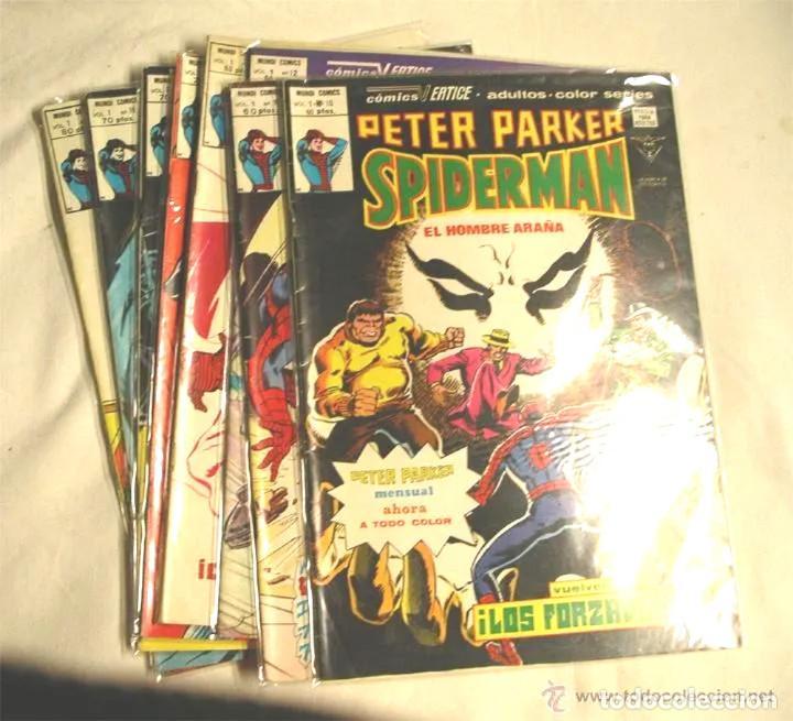SPIDERMAN PETER PARKER VOL 1 Nº 11 (Tebeos y Comics - Vértice - V.1)