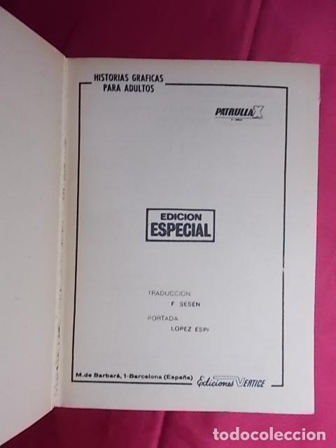 Cómics: PATRULLA X. VOL 1. Nº 12. VUELVE EL MIMICO. EDICIONES VÉRTICE. TACO - Foto 2 - 195213548