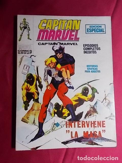 CAPITAN MARVEL. VOL 1. Nº 8. INTERVIENE LA MASA. EDICIONES VÉRTICE. TACO (Tebeos y Comics - Vértice - V.1)