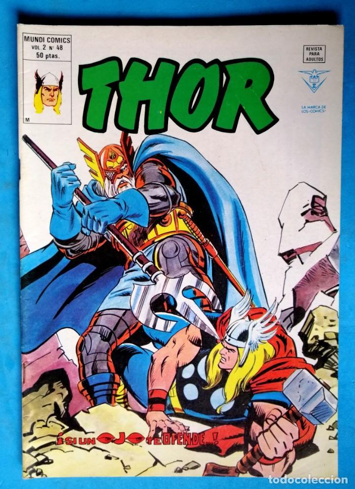 THOR - VOL. 2 Nº 48 - ¡ SI UN OJO TE DEFIENDE ! - VÉRTICE ''BUEN ESTADO'' (Tebeos y Comics - Vértice - Thor)