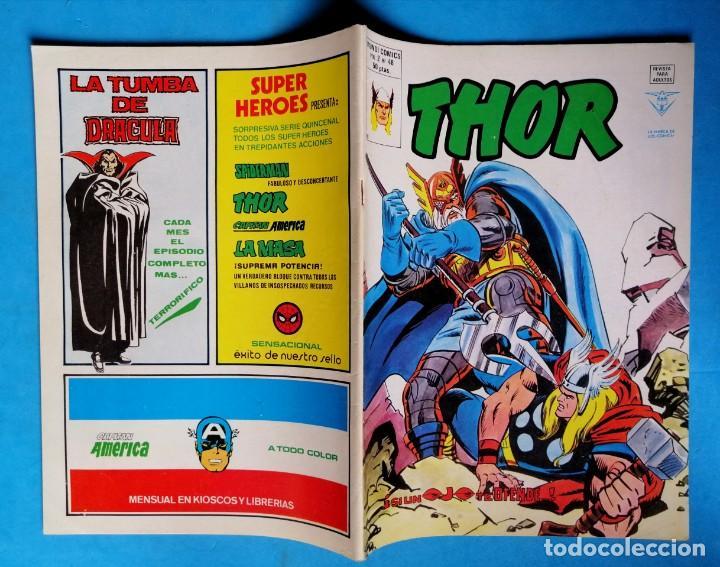 Cómics: THOR - VOL. 2 Nº 48 - ¡ SI UN OJO TE DEFIENDE ! - VÉRTICE BUEN ESTADO - Foto 2 - 195220425