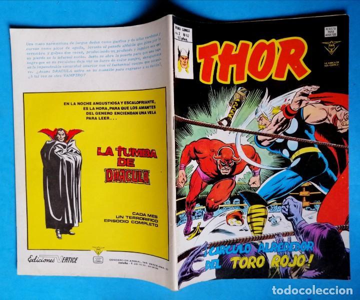 Cómics: THOR - VOL. 2 Nº 47 - ¡ CÍRCULO ALREDEDOR DEL TORO ROJO ! - VÉRTICE BUEN ESTADO - Foto 2 - 195220747