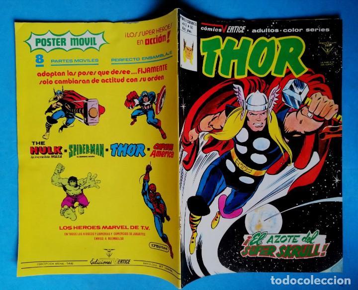 Cómics: THOR - VOL. 2 Nº 46 - ¡ EL AZOTE DEL SUPER SKRULL ! - VÉRTICE MUY BUEN ESTADO - Foto 2 - 195223757
