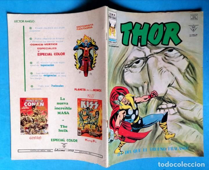 Cómics: THOR - VOL. 2 Nº 38 - ¡ EL DÍA QUE EL TRUENO FRACASÓ ! - VÉRTICE BUEN ESTADO - Foto 2 - 195224260
