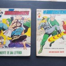 Cómics: 2 CÓMICS EDICIONES INTERNACIONALES LOS VENGADORES Y LOS 4 FANTÁSTICOS 1973 - 1974. Lote 195251077