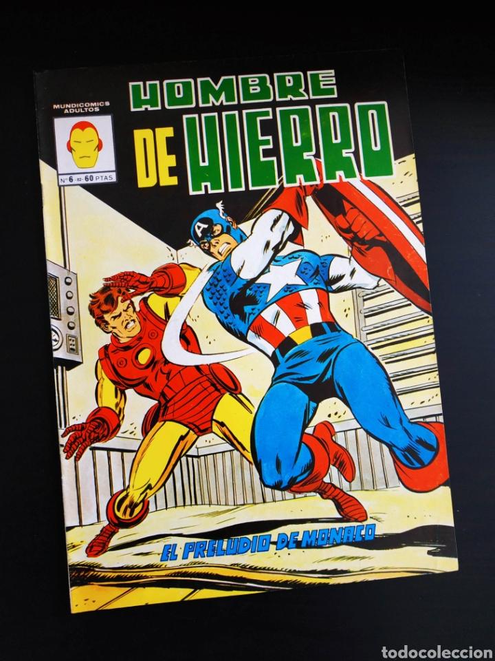 EXCELENTE ESTADO EL HOMBRE DE HIERRO 6 VERTICE (Tebeos y Comics - Vértice - Hombre de Hierro)