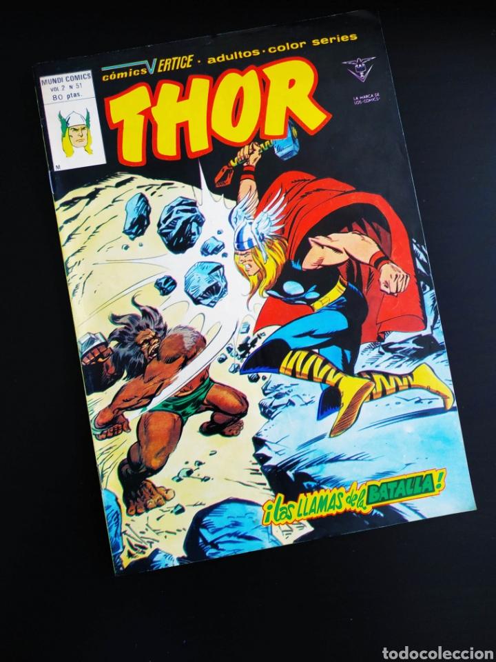 EXCELENTE ESTADO THOR 51 VERTICE (Tebeos y Comics - Vértice - Thor)