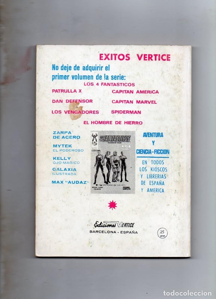 Cómics: COMIC VERTICE 1969 DAN DEFENSOR VOL1 Nº 3 ( BUEN ESTADO ) - Foto 2 - 195305773