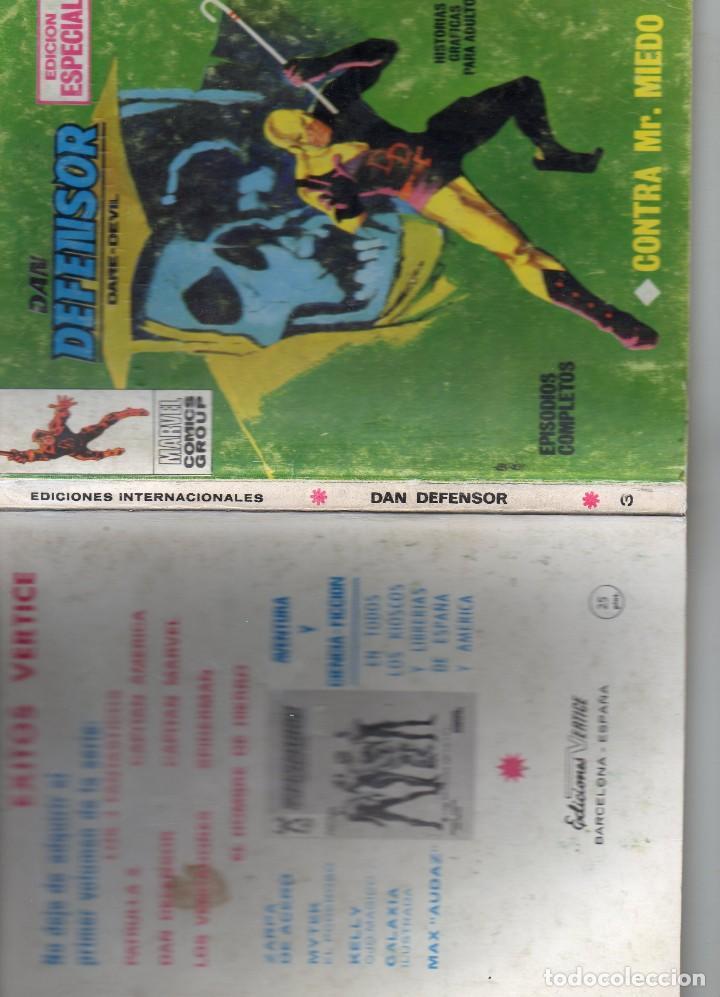 Cómics: COMIC VERTICE 1969 DAN DEFENSOR VOL1 Nº 3 ( BUEN ESTADO ) - Foto 3 - 195305773