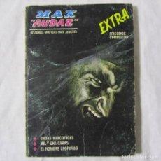 Cómics: MAX AUDAZ Nº 6 EXTRA VERTICE ONDAS NARCÓTICAS, MIL Y UNA CARAS, EL HOMBRE LEOPARDO. Lote 195332853