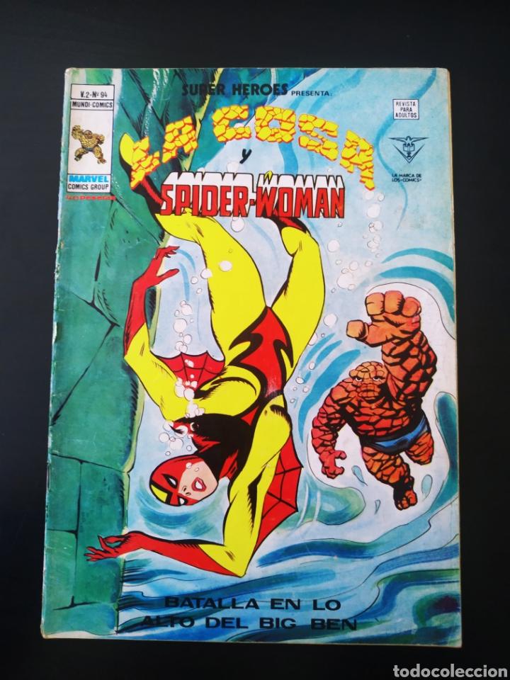 NORMAL ESTADO SUPER HEROES 94 VOL II LA COSA Y SPIDER-WOMAN VERTICE (Tebeos y Comics - Vértice - Super Héroes)