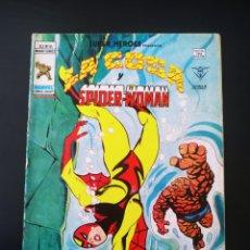 Cómics: NORMAL ESTADO SUPER HEROES 94 VOL II LA COSA Y SPIDER-WOMAN VERTICE. Lote 195361522