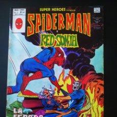 Cómics: NORMAL ESTADO SUPER HEROES 107 VOL II SPIDERMAN Y RED SONJA VERTICE. Lote 195361638