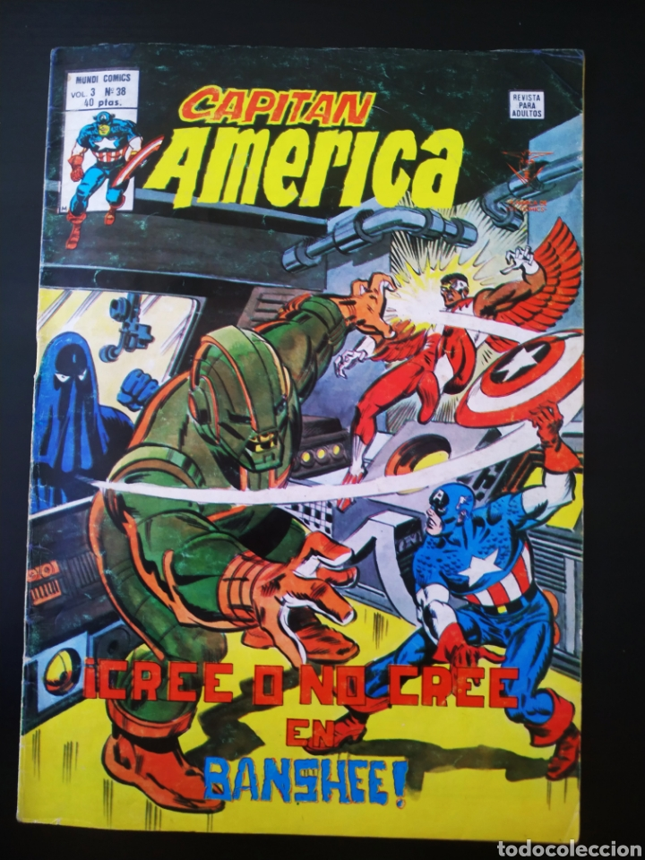 Cómics: NORMAL ESTADO CAPITAN AMERICA 38 VOL III VERTICE - Foto 1 - 195361802