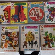 Cómics: LOTE 7X LOS 4 FANTÁSTICOS 1970 VÉRTICE MARVEL TACO N° 9 AL 15 NO SUELTOS. Lote 195362075