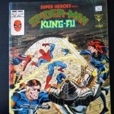 Cómics: MUY BUEN ESTADO SUPER HEROES 113 VOL II SPIDER-MAN KUNG-FU VERTICE. Lote 195369317