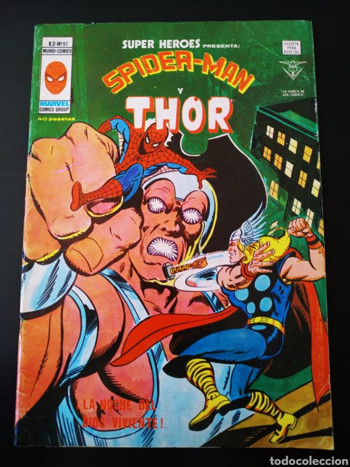 MUY BUEN ESTADO SUPER HEROES 97 VOL II SPIDER-MAN Y THOR VERTICE (Tebeos y Comics - Vértice - Super Héroes)