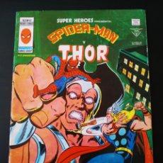 Cómics: MUY BUEN ESTADO SUPER HEROES 97 VOL II SPIDER-MAN Y THOR VERTICE. Lote 195369625
