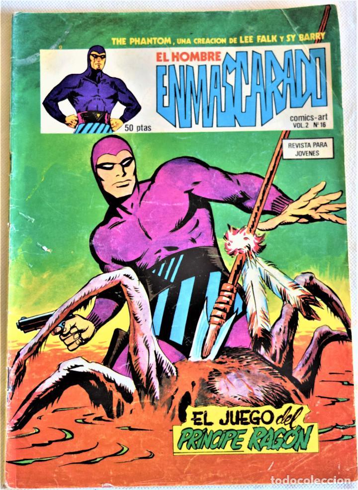 EL HOMBRE ENMASCARADO Nº 16 - EL JUEGO DEL PRINCIPE RAGÓN - EDICIONES VERTICE - TAPA BLANDA (Tebeos y Comics - Vértice - Hombre Enmascarado)