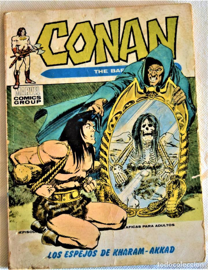 CONAN Nº 13 - LOS ESPEJOS DE KHARAM - AKKAD - EDICIONES VERTICE - TAPA BLANDA (Tebeos y Comics - Vértice - Conan)