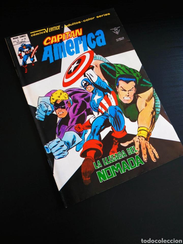 EXCELENTE ESTADO CAPITAN AMERICA 41 VERTICE VOL III (Tebeos y Comics - Vértice - Capitán América)