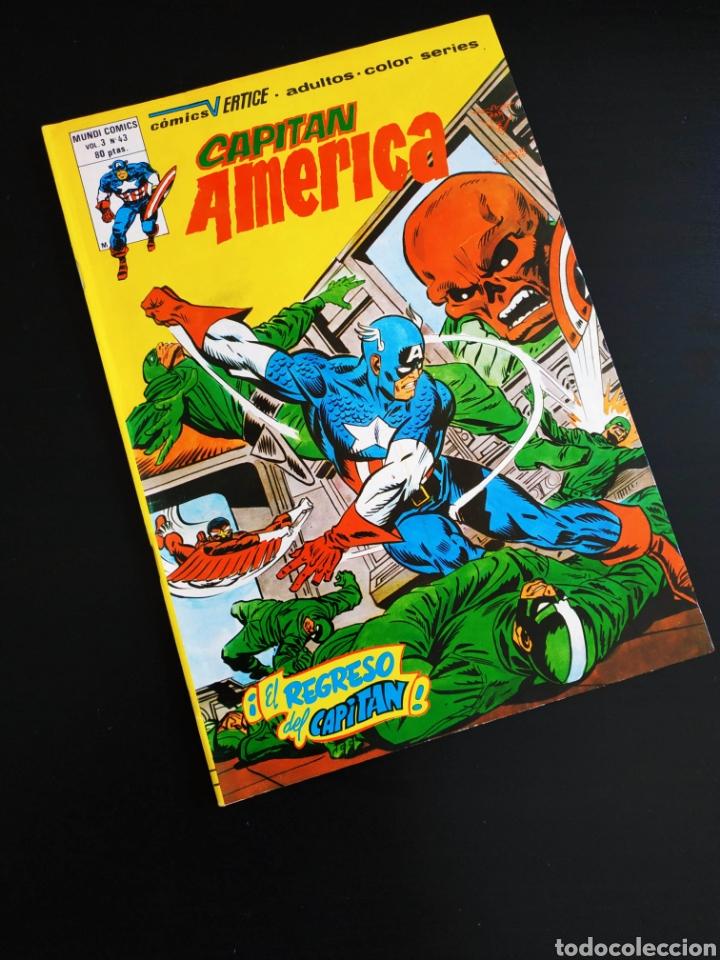 EXCELENTE ESTADO CAPITAN AMERICA 43 VERTICE VOL III (Tebeos y Comics - Vértice - Capitán América)