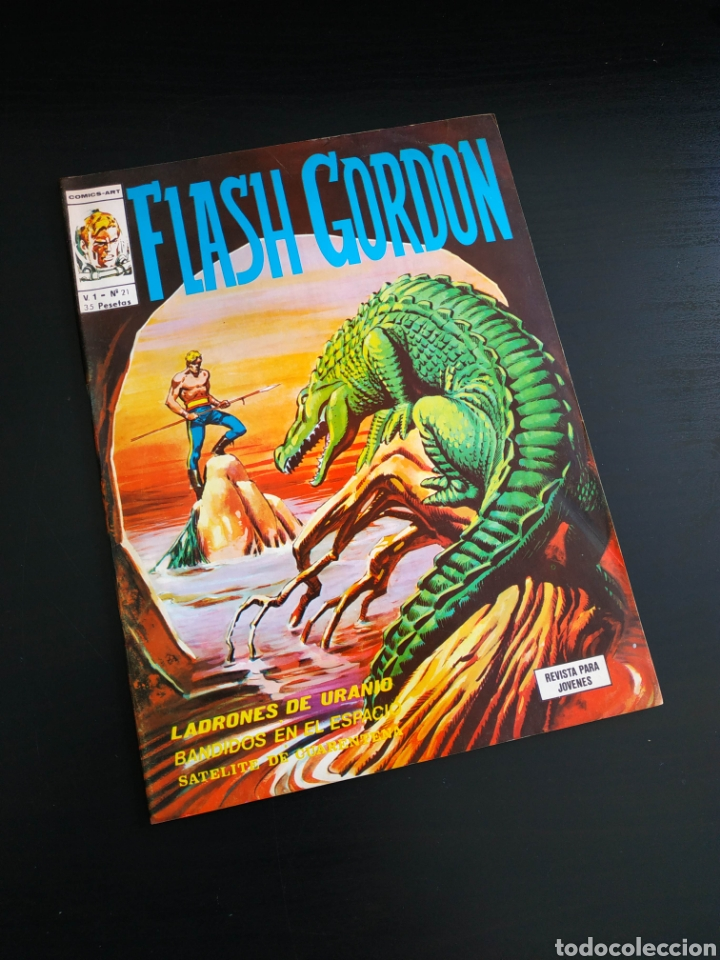 EXCELENTE ESTADO FLASH GORDON 21 VERTICE (Tebeos y Comics - Vértice - Flash Gordon)