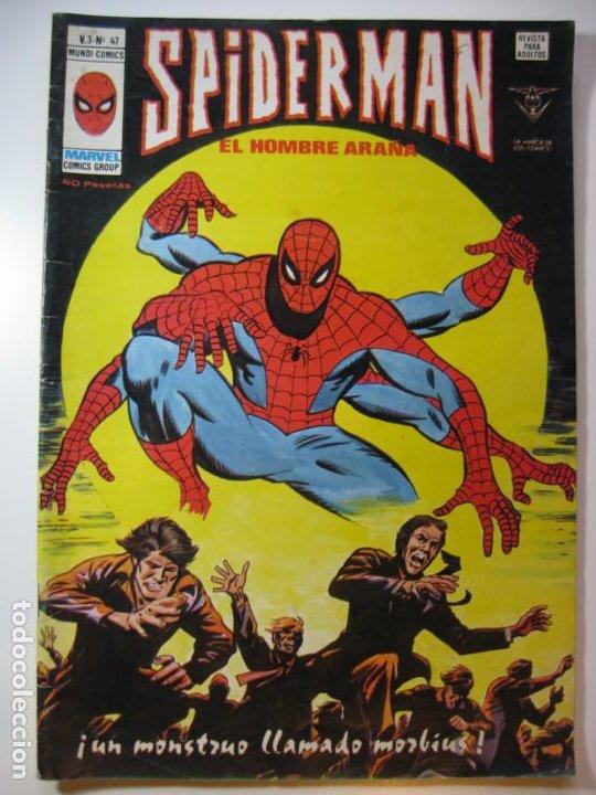 SPIDERMAN V-3 Nº47 (Tebeos y Comics - Vértice - V.3)